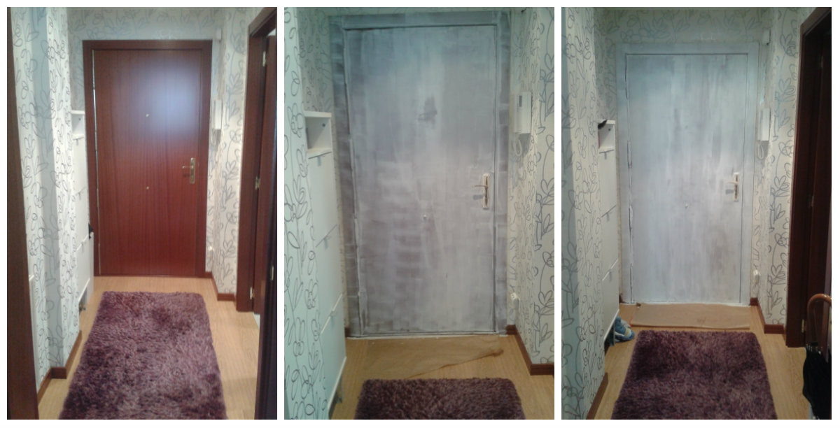 Lacado el taller de sil for Lacar puertas en blanco